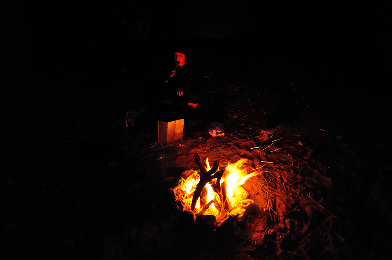 Beachside Campfire