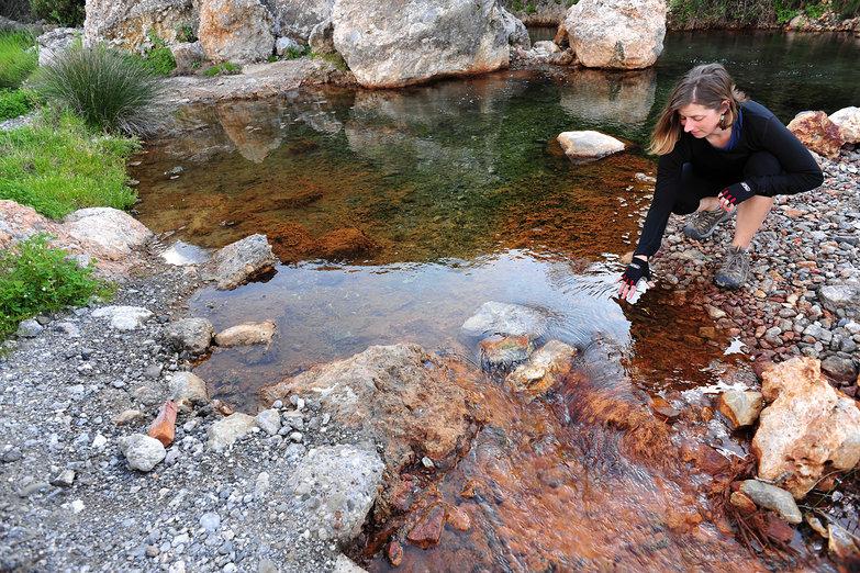 Tara Testing the Water