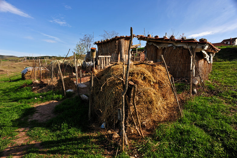 Macedonian Chicken Coop