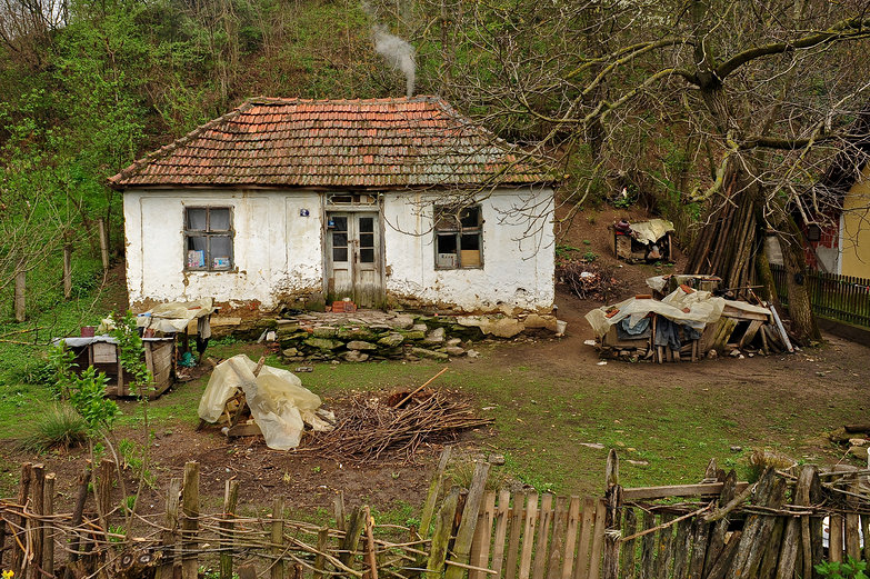 Old Serbian Woman's Cottage