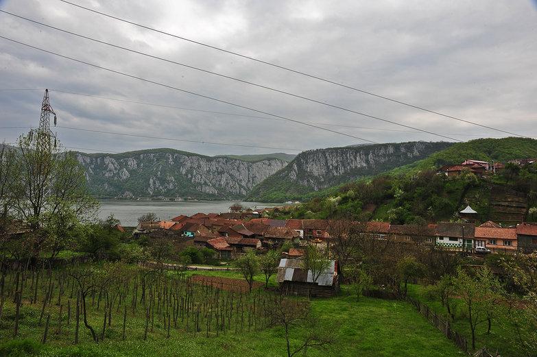 Town Near Orsova, Romania