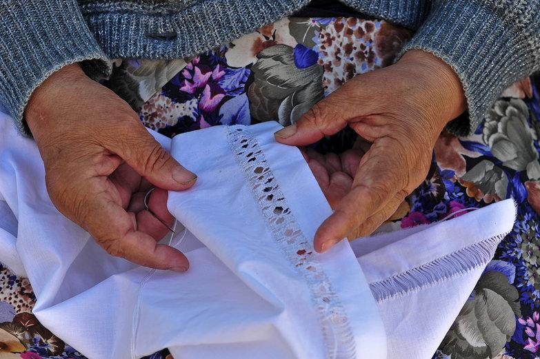 Romanian Seamstress
