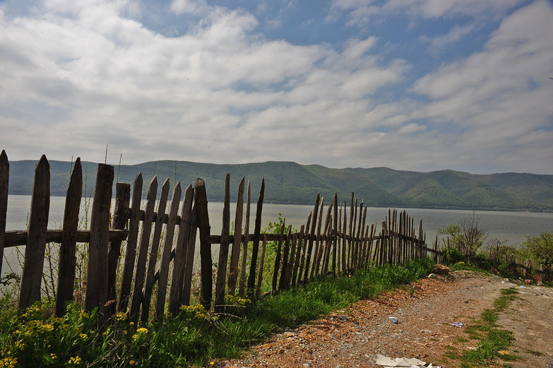Danube River Fence