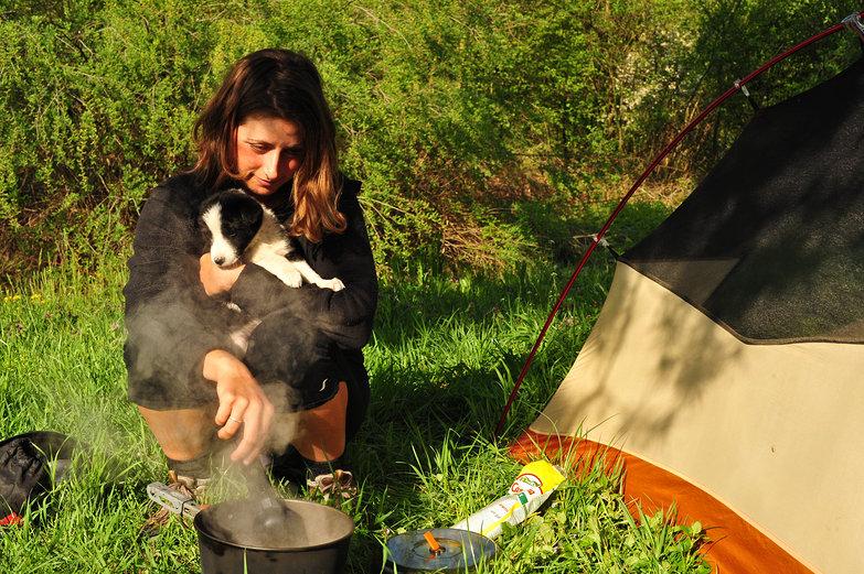 Tara and Puppy