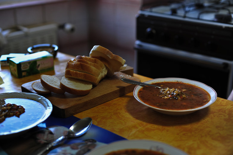 Homemade Ciorba (Soup)