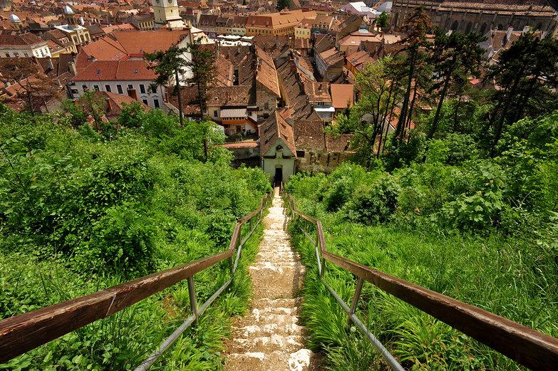 Stairs to Braşov