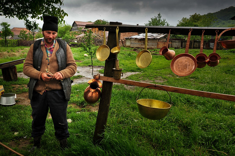Romanian Coppersmith