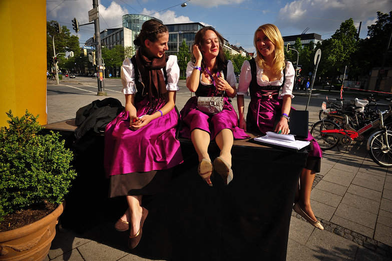 Girls in Dirndl