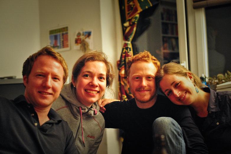 Marcus, Nadine, Tyler & Tara