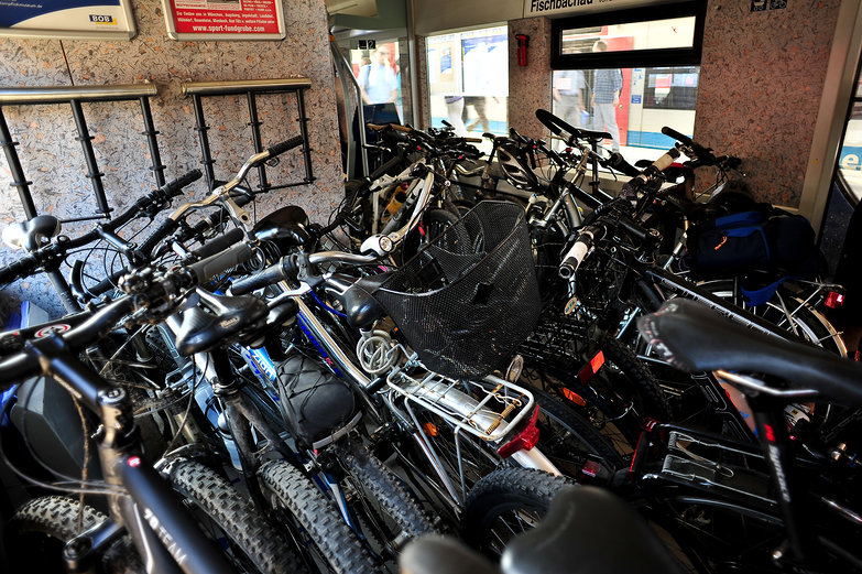 Bikes on the Train