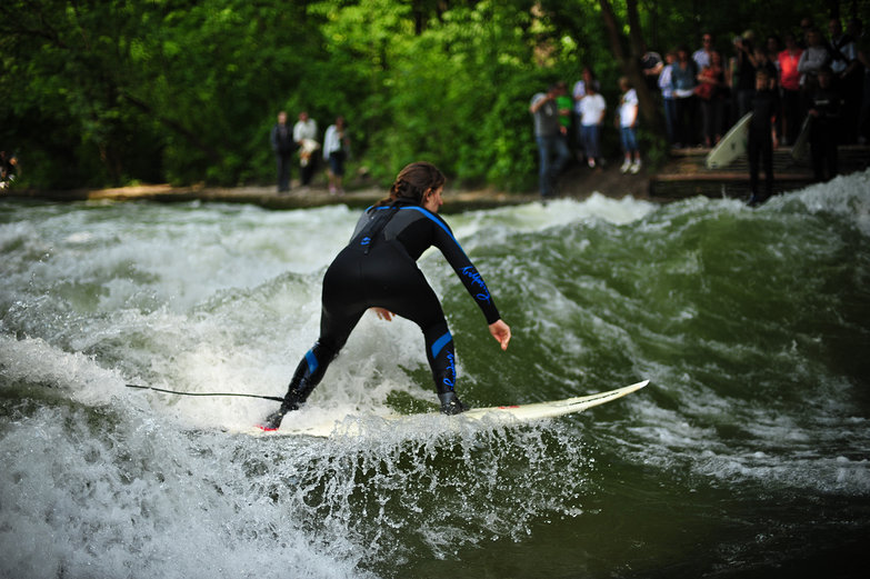 Helen River Surfing