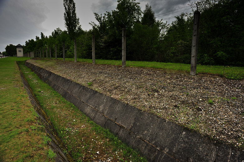 Dachau Concentration Camp Fenceline