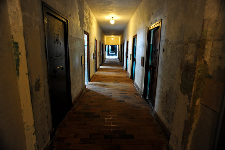 Dachau Concentration Camp Hallway