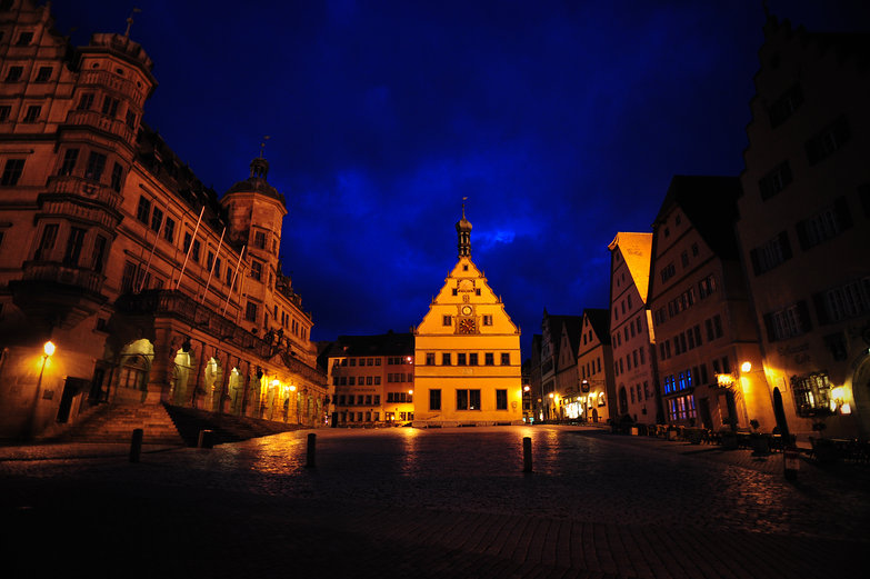 Rothenburg by Night