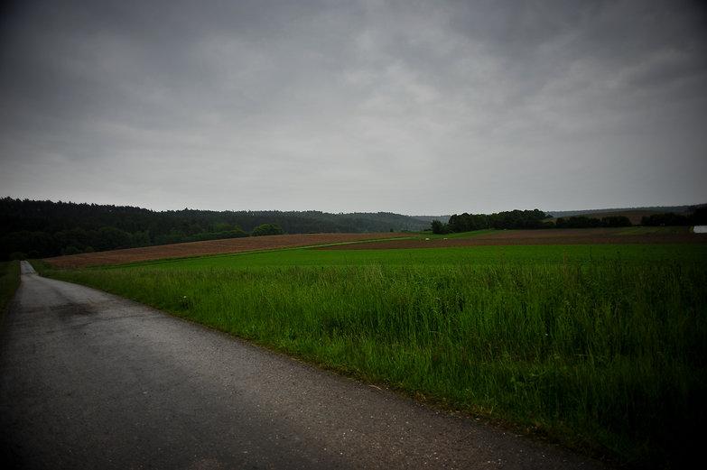 Rainy German Road