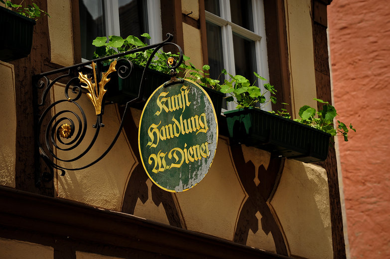 Rothenburg Sign