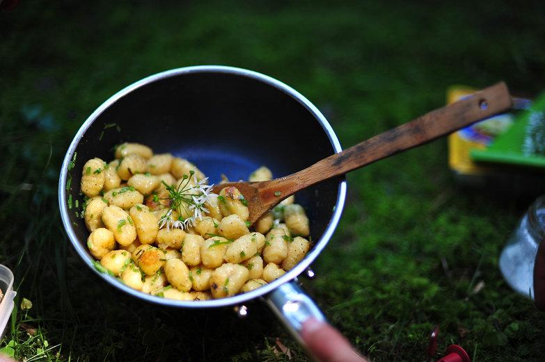 Wild Garlic Gnocci