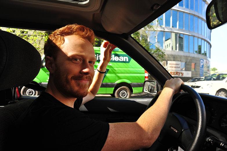 Tyler Driving
