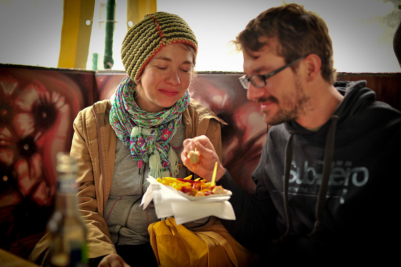 Nadine & Felix & Currywurst