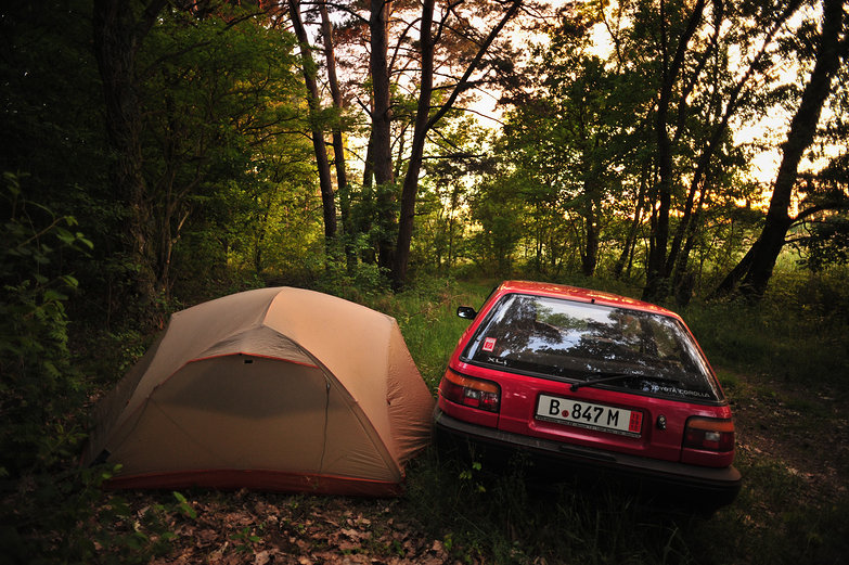Free Camping With LRC