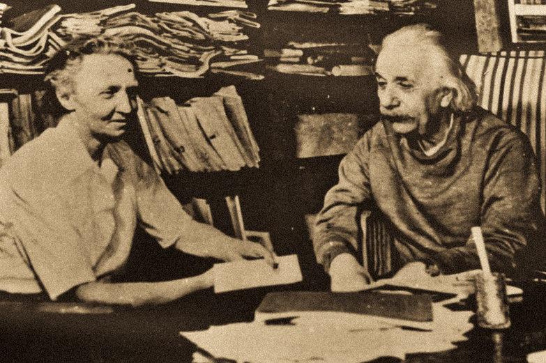 Marie Curie & Albert Einstein