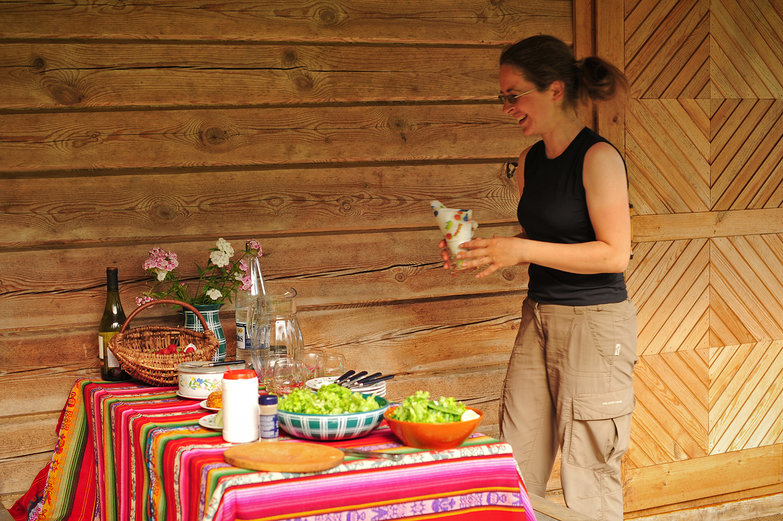 Jurgita Setting the Table