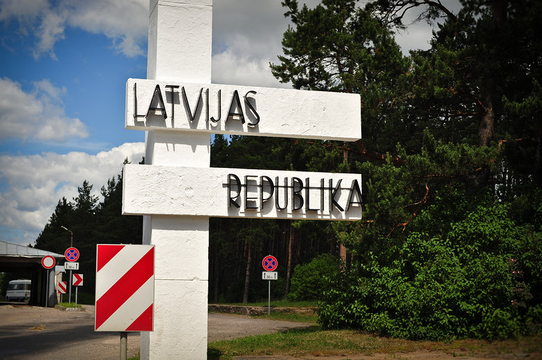 Latvian Border