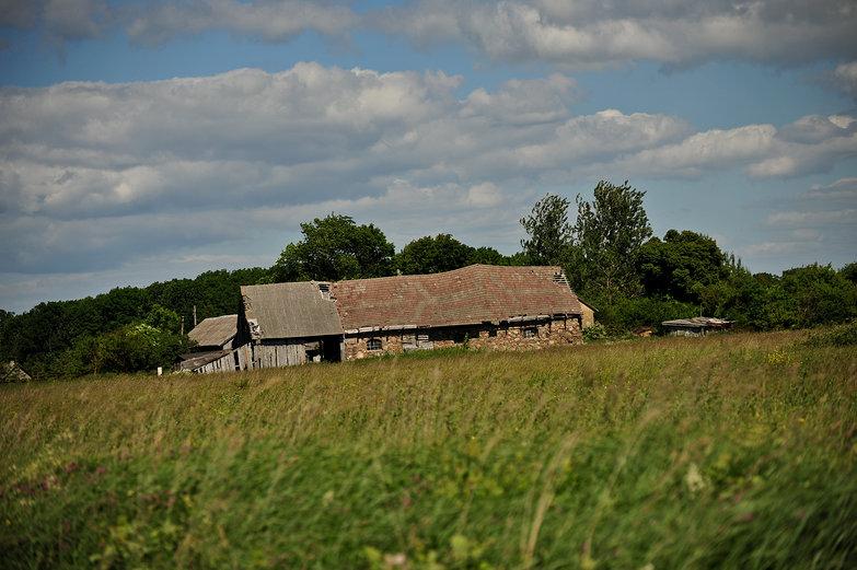 Latvian Barn