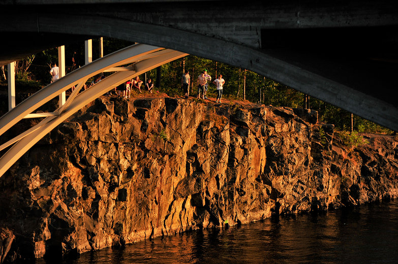 Bridge Near Lappeenranta