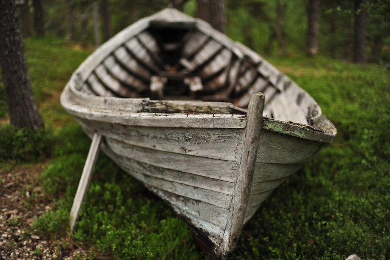 Lake Inari Boat