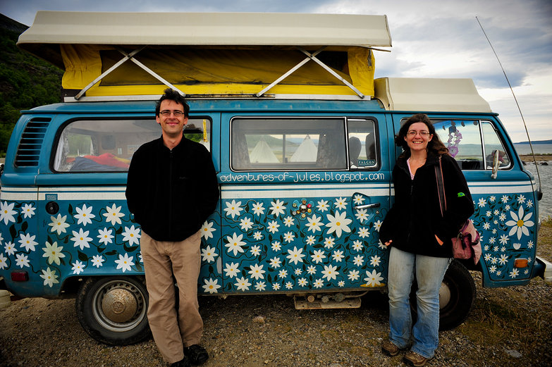 Will, Becky & Their Van, Jules