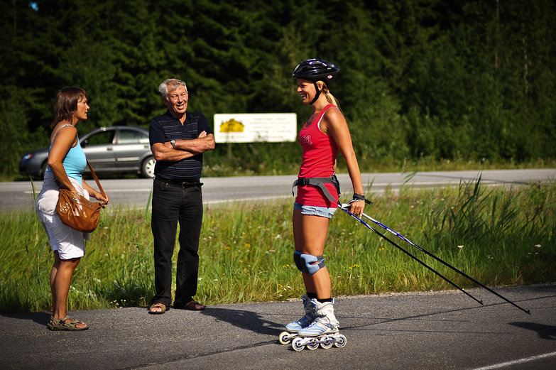 Finnish Rollerblader
