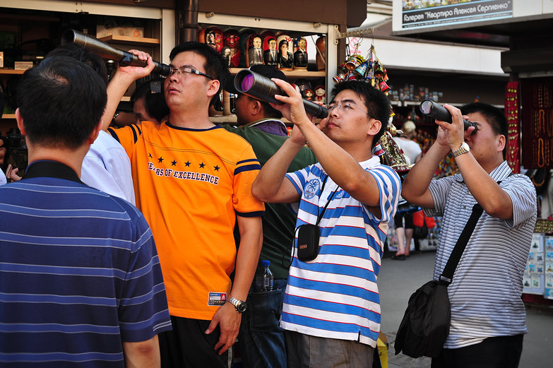 Tourists with Telescopes