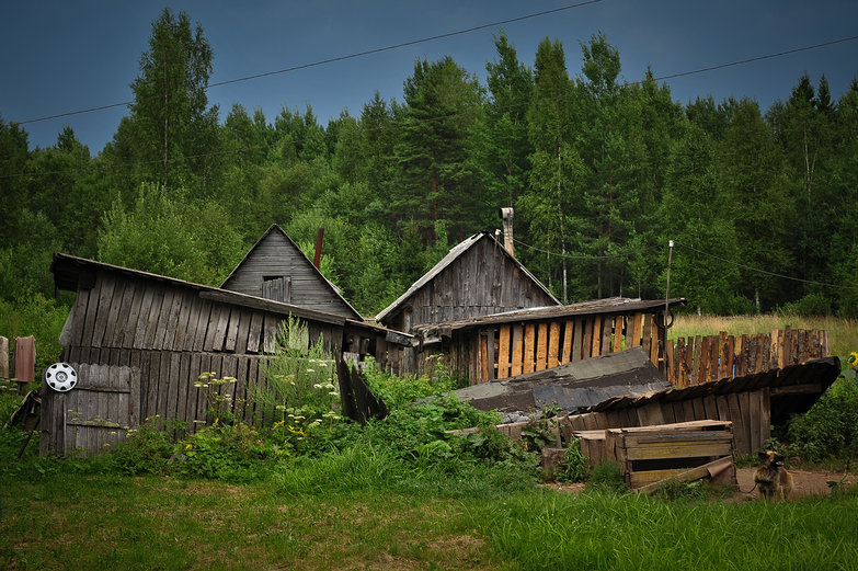 Wooden Russian Sheds