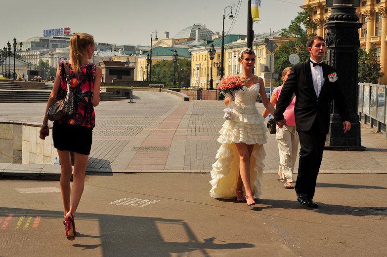 Moscow Wedding #1