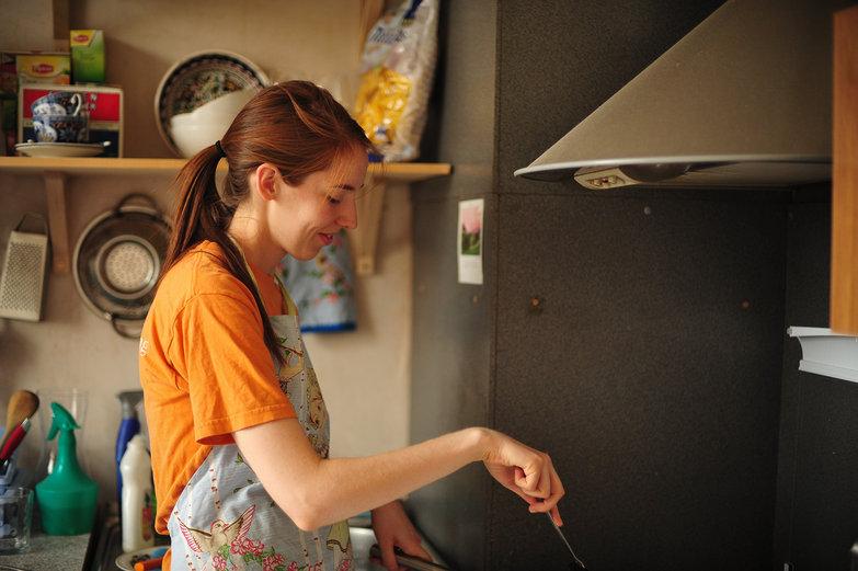 Elizabeth Cooking Syrniki