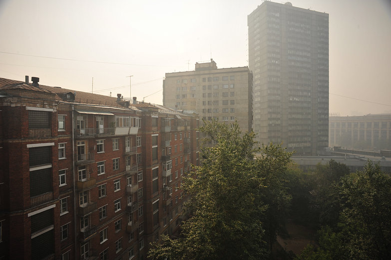 Smoggy Moscow