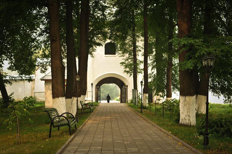 St. Daniel Monastery Entrance