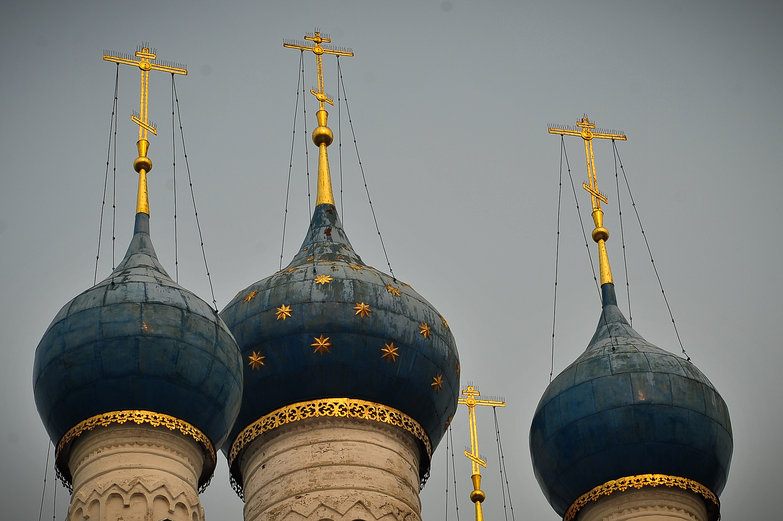 Rostov Church Spires