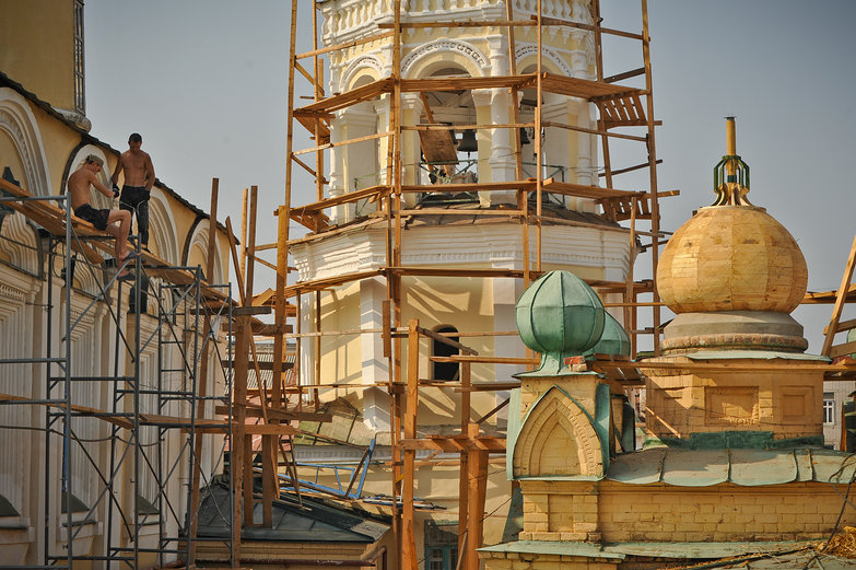 Russian Church Construction