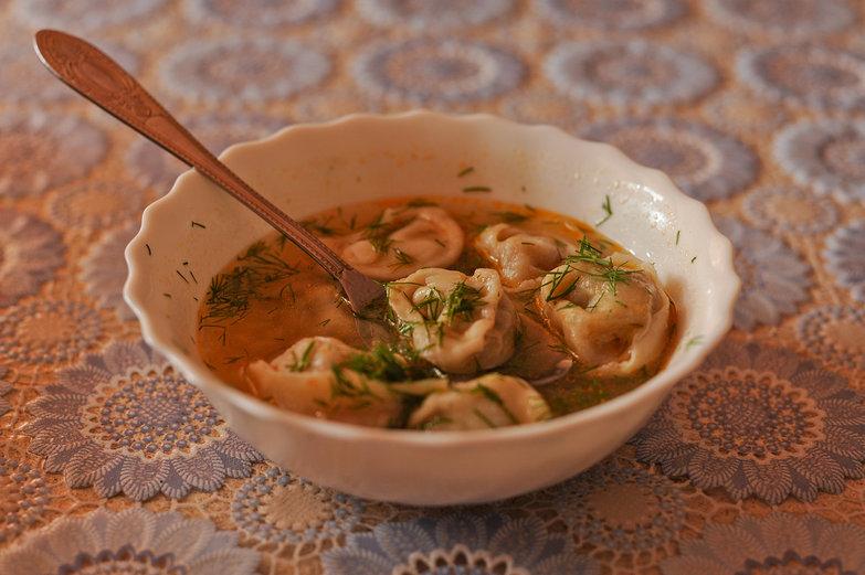 Tatar Dumpling Soup