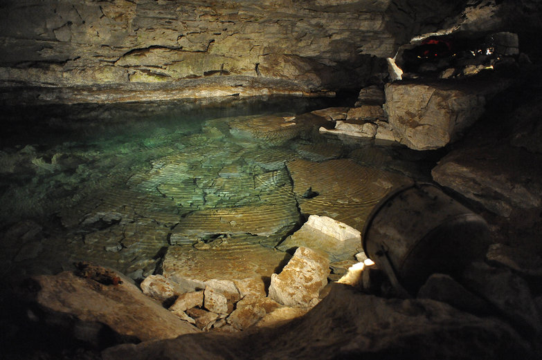Kungur Ice Cave Pool