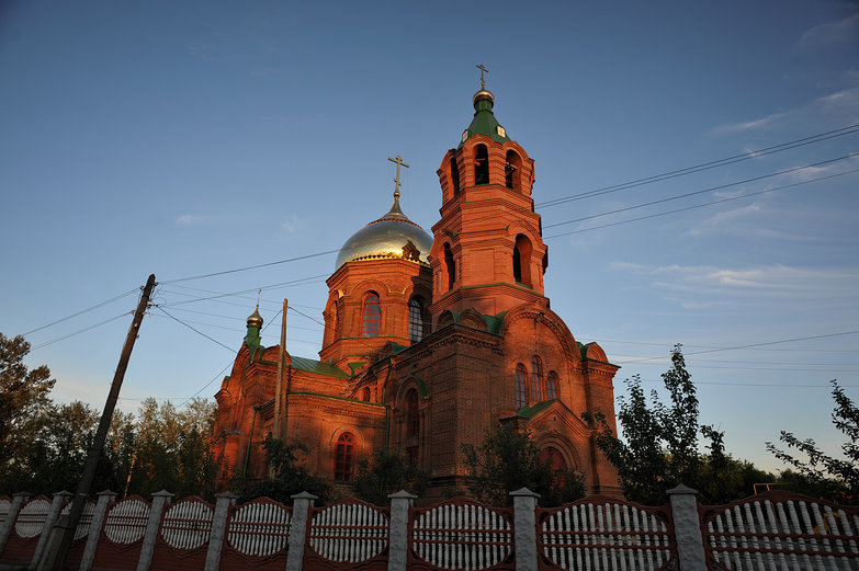 Russian Brick Church