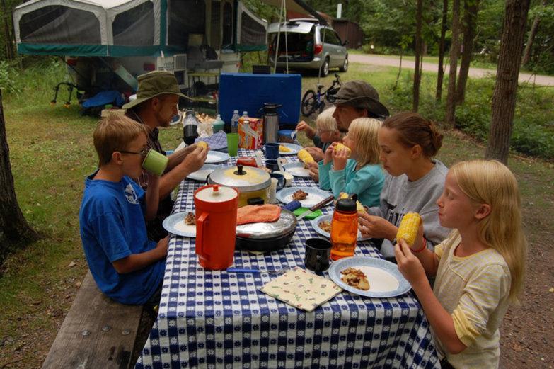 Kellen Family Camping