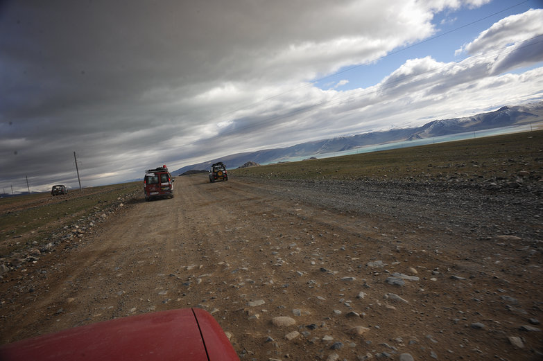 Convoy Driving in Mongolia