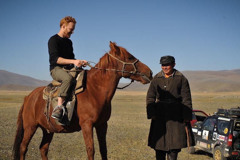 Tyler Riding Horse