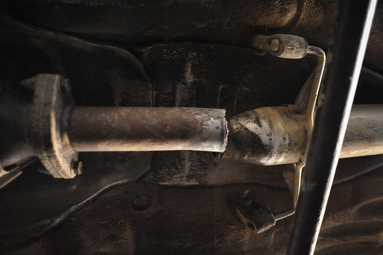 LRC's Broken Exhaust