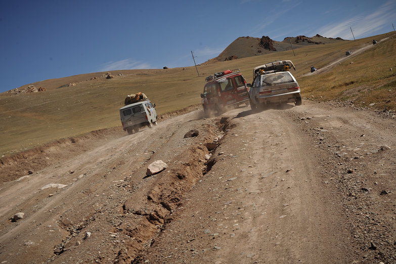 Mongolian Traffic