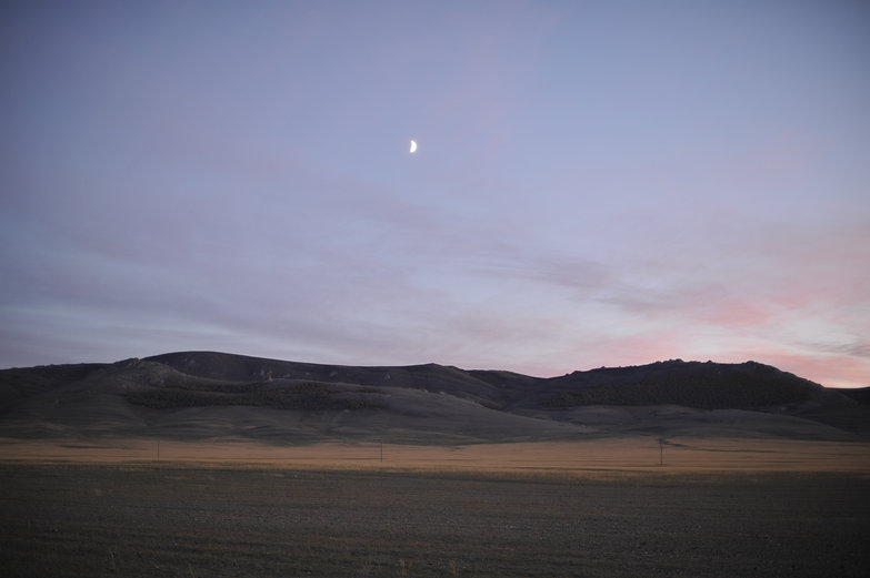Mongolia at Dusk