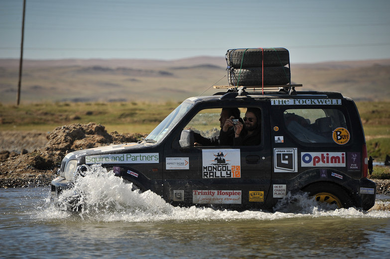 Suzuki Jimny River Crossing